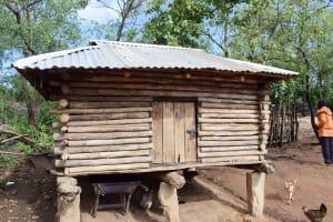 The Water Project: Yumbani Community B -  Granary