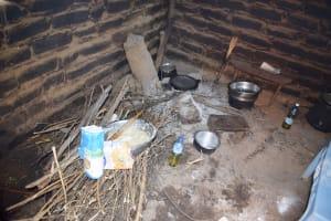 The Water Project: Yumbani Community B -  Inside Kitchen