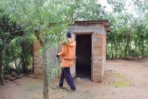 The Water Project: Yumbani Community B -  Latrine
