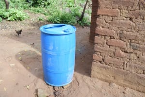 The Water Project: Yumbani Community B -  Water Storage Container