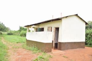 The Water Project: Nzoila Secondary School -  Boys Latrines