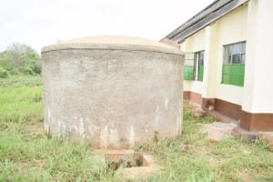 The Water Project: Nzoila Secondary School -  Decommissioned Tank