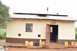 The Water Project: Nzoila Secondary School -  Kitchen