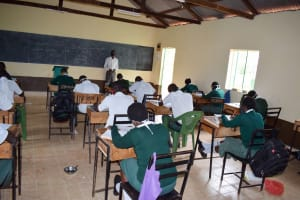 The Water Project: Nzoila Secondary School -  Students In Class