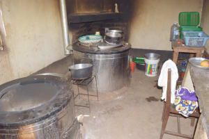 The Water Project: AIC Kaseve Primary School -  Inside Kitchen