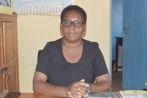 The Water Project: AIC Kaseve Primary School -  Mary Musyoka