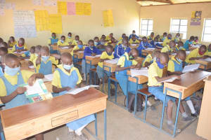 The Water Project: AIC Kaseve Primary School -  Students