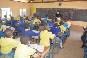 The Water Project: AIC Kaseve Primary School -  Students In Class