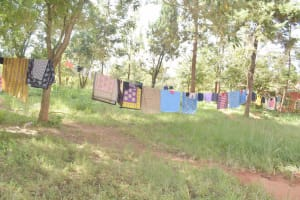 The Water Project: Utuneni Secondary School -  Clothesline