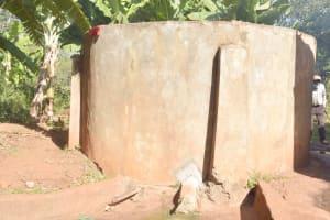 The Water Project: Utuneni Secondary School -  Old Rainwater Tank