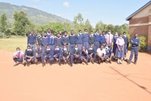 The Water Project: Utuneni Secondary School -  Students