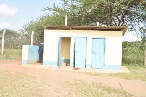 The Water Project: Mbondoni Secondary School -  Boys Latrines