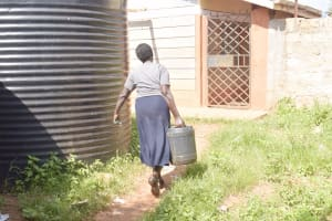 The Water Project: Mbondoni Secondary School -  Carrying Water