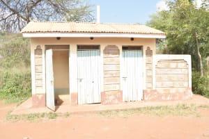 The Water Project: Mbondoni Secondary School -  Girls Latrines