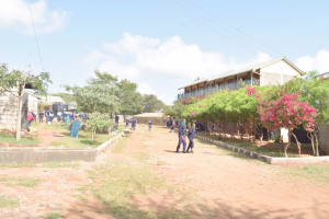 The Water Project: Mbondoni Secondary School -  School Grounds