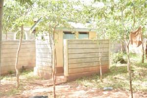 The Water Project: Mbondoni Secondary School -  Staff Latrines