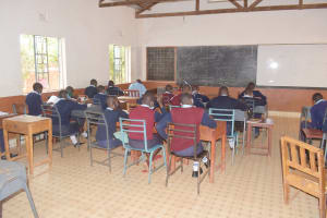 The Water Project: Mbondoni Secondary School -  Students In Class