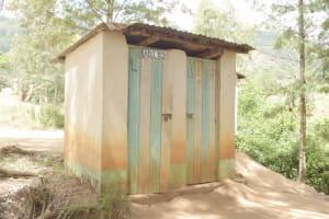 The Water Project: Kitondo Primary School -  Staff Latrines
