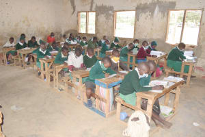 The Water Project: Kitondo Primary School -  Students In Class