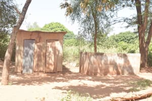The Water Project: Itulu Primary School -  Boys Latrines