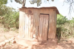 The Water Project: Itulu Primary School -  Girls Latrines