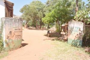 The Water Project: Itulu Primary School -  School Gate