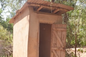 The Water Project: Itulu Primary School -  Staff Latrines