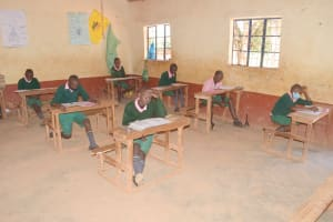 The Water Project: Itulu Primary School -  Students In Class