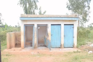 The Water Project: Kako Special School for the Mentally Handicapped -  Girls Latrines