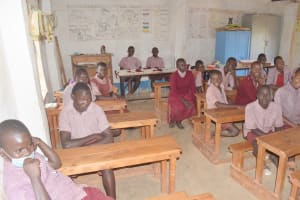 The Water Project: Kako Special School for the Mentally Handicapped -  Students In Class