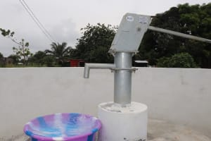 The Water Project: Lungi, New London, Saint Dominic's Catholic Church -  Clean Water Flowing