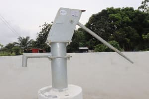 The Water Project: Lungi, New London, Saint Dominic's Catholic Church -  Finished Project