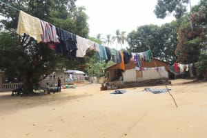 The Water Project: Lungi, Yongoroo, #7 Kamara Taylor Street -  Clothes Line