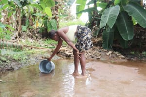 The Water Project: Lungi, Yongoroo, #7 Kamara Taylor Street -  Small Girl Collecting Water
