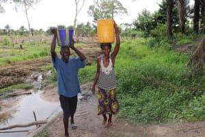 The Water Project: Kamasondo, Bross 2 -  Carrying Water