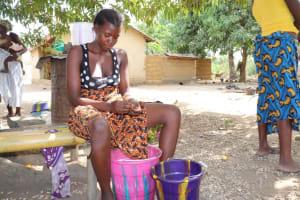 The Water Project: Kamasondo, Bross 2 -  Sorting Groundnuts