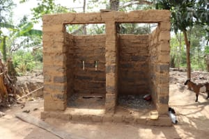The Water Project: Kamasondo, Bross 2 -  Latrine