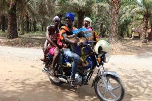 The Water Project: Kamasondo, Bross 2 -  Motor Bike Transportation
