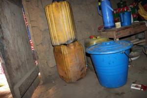 The Water Project: Kamasondo, Bross 2 -  Water Storage