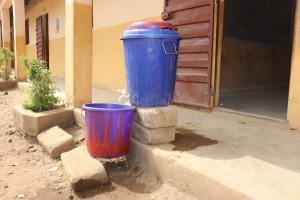 The Water Project: Masoila Jesus is the Way School -  Handwashing Station