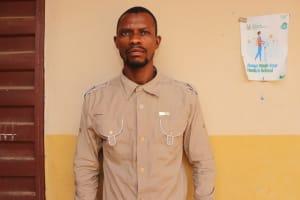 The Water Project: Masoila Jesus is the Way School -  Principal Alfred Kallokoh