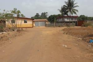 The Water Project: Masoila Jesus is the Way School -  School Entrance