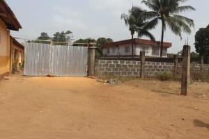 The Water Project: Masoila Jesus is the Way School -  School Gate