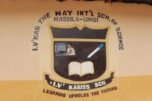 The Water Project: Masoila Jesus is the Way School -  School Sign Board