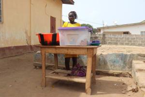 The Water Project: Masoila Jesus is the Way School -  Woman Selling Food At School