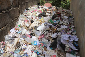 The Water Project: Masoila Jesus is the Way School -  Garbage Pit