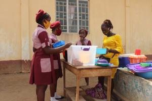 The Water Project: Masoila Jesus is the Way School -  Pupils Buying Food