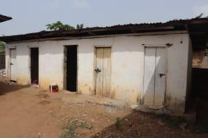 The Water Project: Masoila Jesus is the Way School -  School Latrine