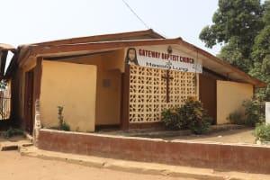 The Water Project: Masoila Gateway Baptist Church and Primary School -  Church