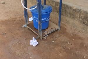 The Water Project: Masoila Gateway Baptist Church and Primary School -  Handwashing Station At School